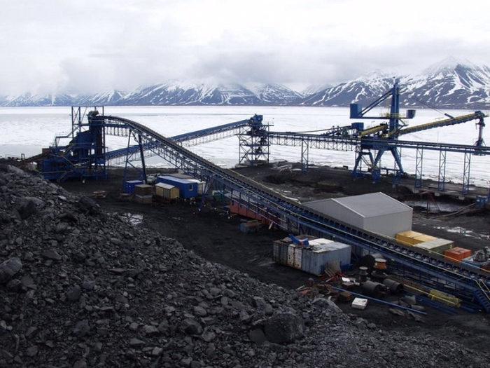шахта баренцбург