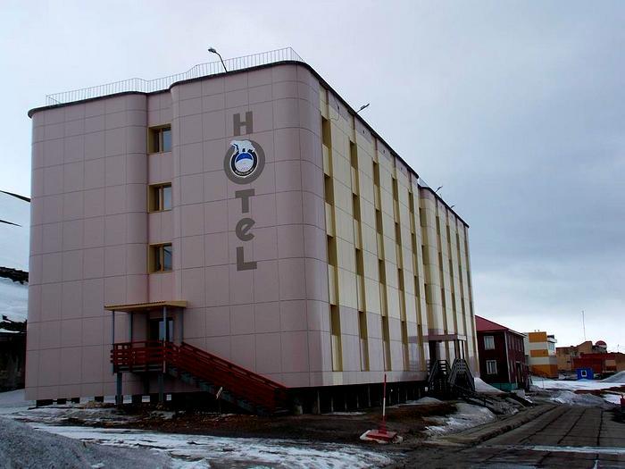 Отель в Баренцбурге