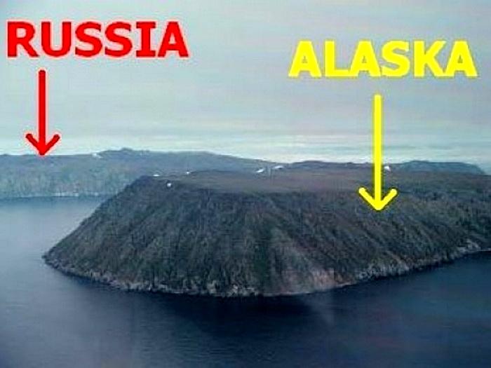 граница россии и америки
