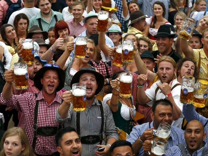фестиваль пива в Мюнхене