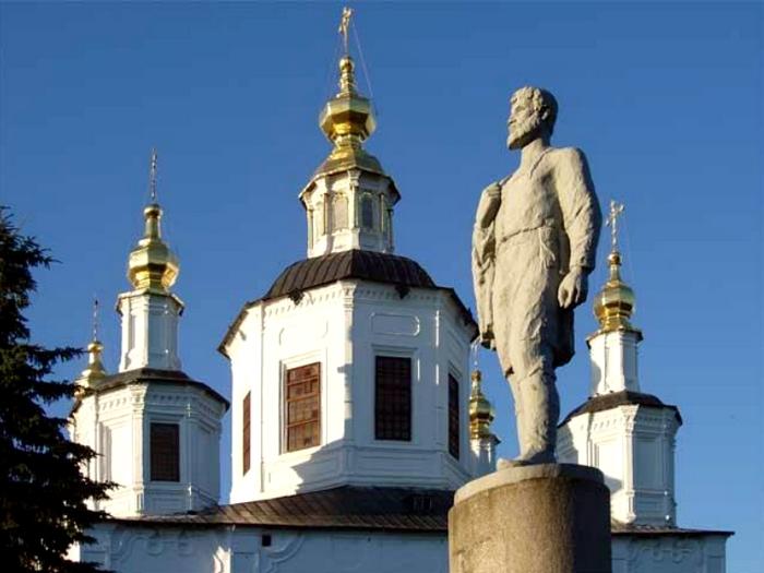 памятник дежнёву