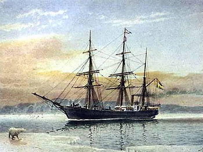 пароход вега