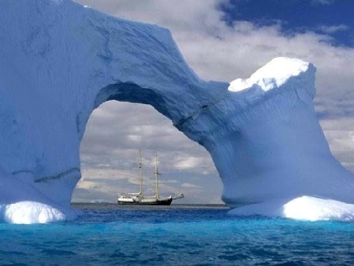 Антарктические и арктические льды