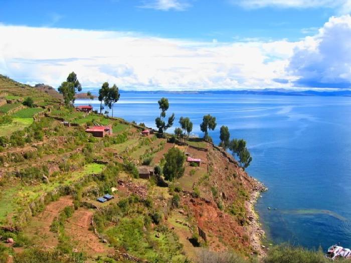 Озеро Титикака. Где находится Титикака
