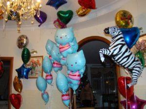 Как надуть фольгированные шары