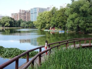Парк Воронцовские пруды