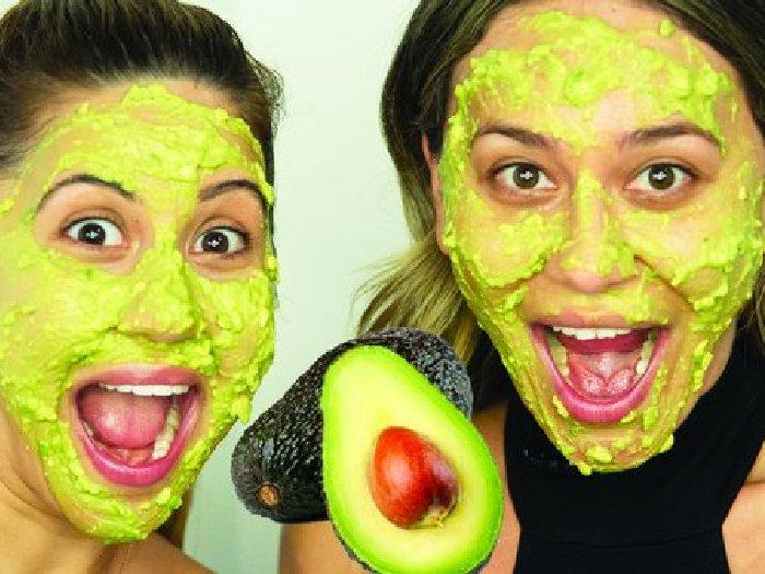 Маски из авокадо для лица