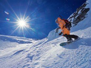 На сноуборде с вершины Эвереста