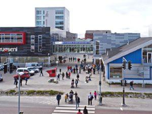 Центр гренландской столицы