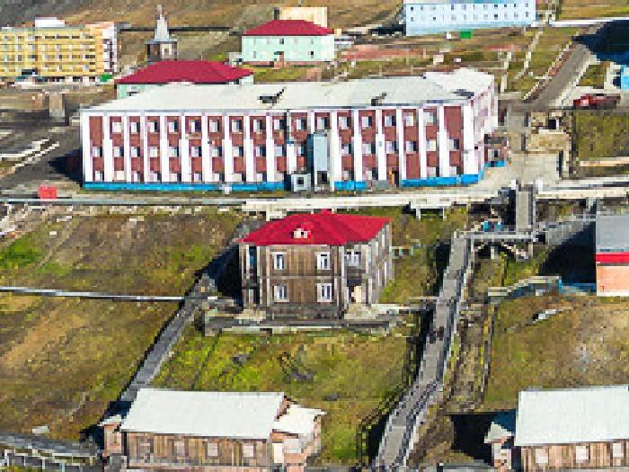 Дом Майи Плисецкой на Шпицбергене