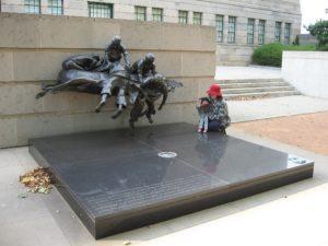 Сад скульптур военного мемориала