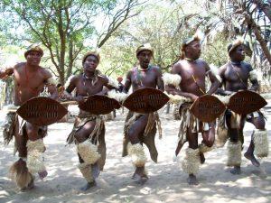 Дикие племена Африки
