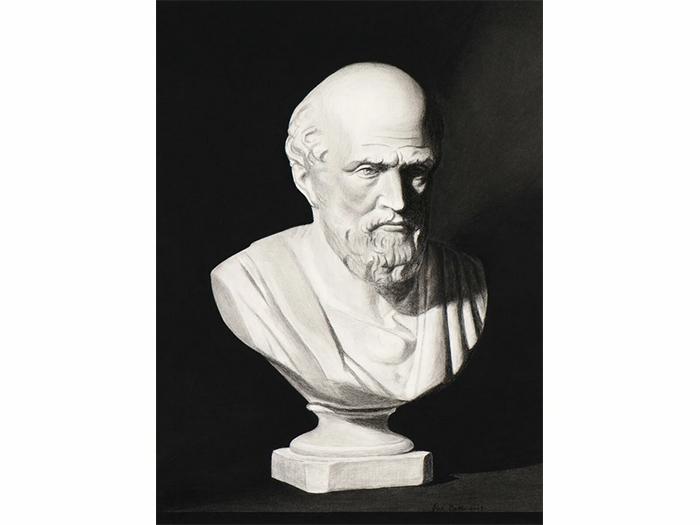 статуэтка Гиппократ