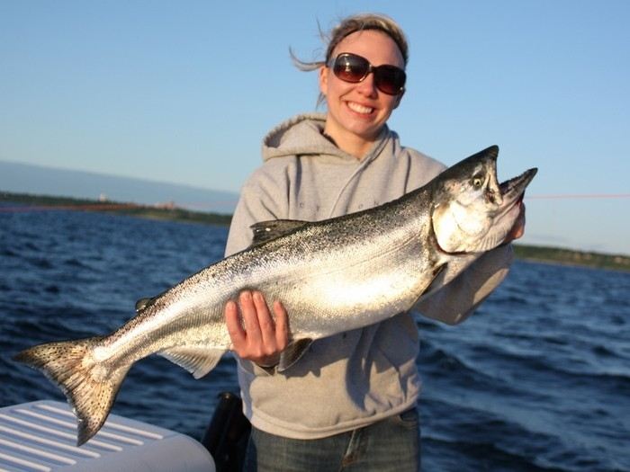 рыбалка на мичигане