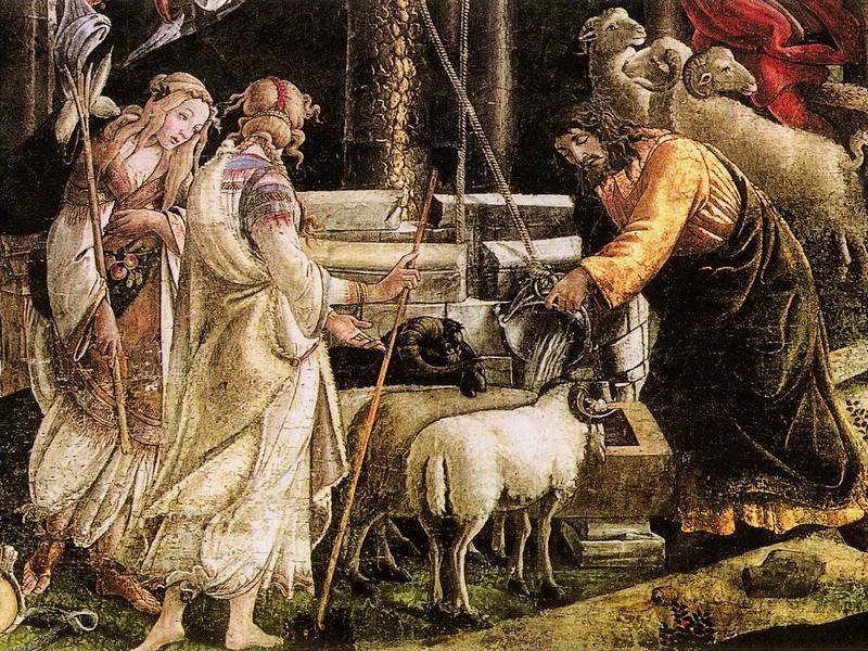 Моисей встретил Сепфору