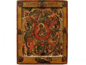 Самая старая икона Неопалимая купина