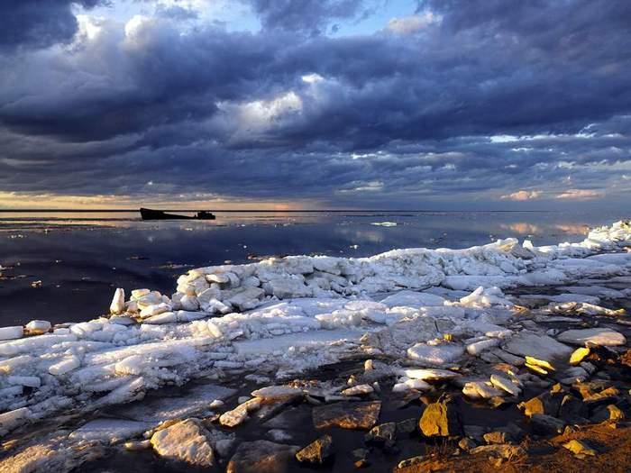 Восход над Карским морем