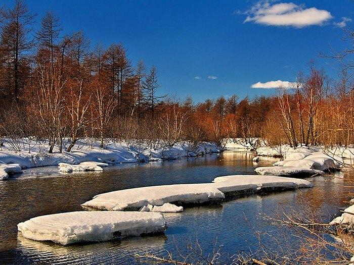 Река Охота - Хабаровский край