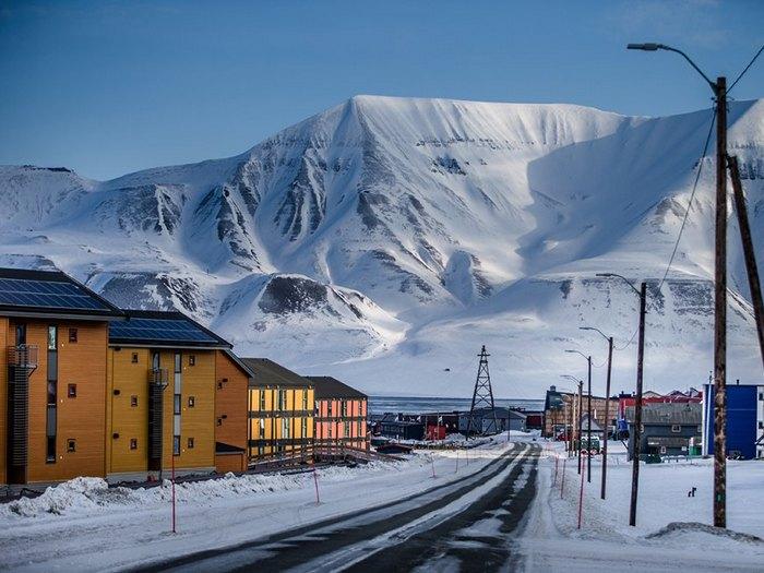 Норвежские поселки