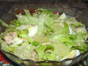 Салат из свити с тунцом