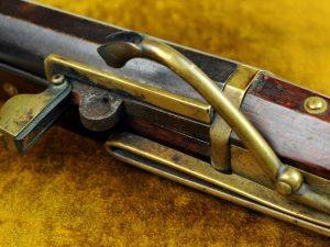 Шомпольное ружье с фитильным замком