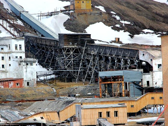 Брошенная шахта