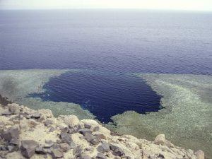Пещера дайверов в Дахабе