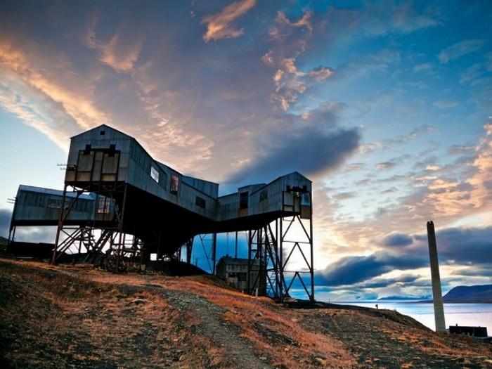 Первая шахта Шпицбергена