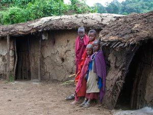 Дети племени масаи