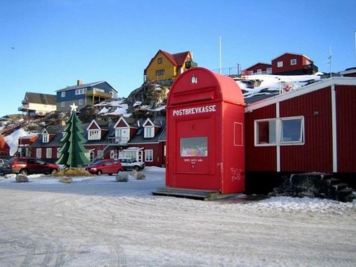 Почтовый ящик Санта Клауса