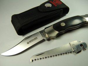 Складной нож Boker со сменным лезвием «Böker Optima Delrin Set»