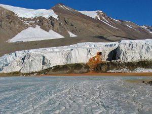 Водопад на Южном полюсе