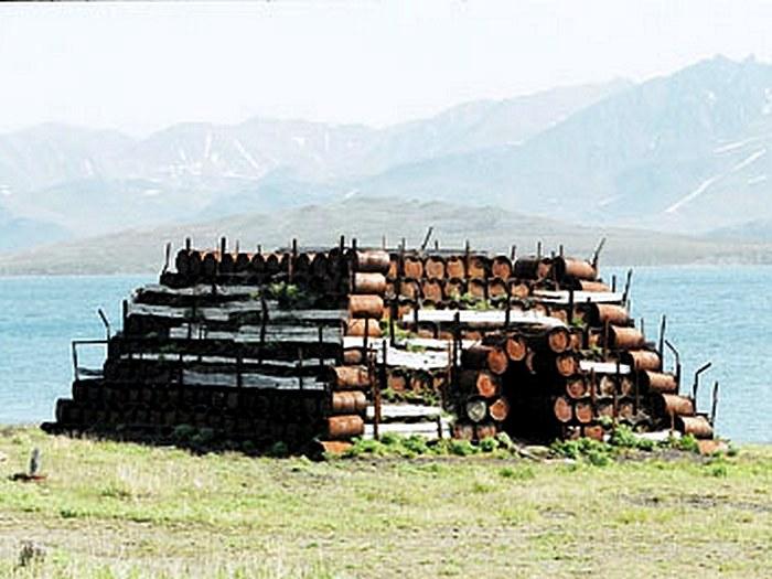 Царство железных бочек на острове Врангеля