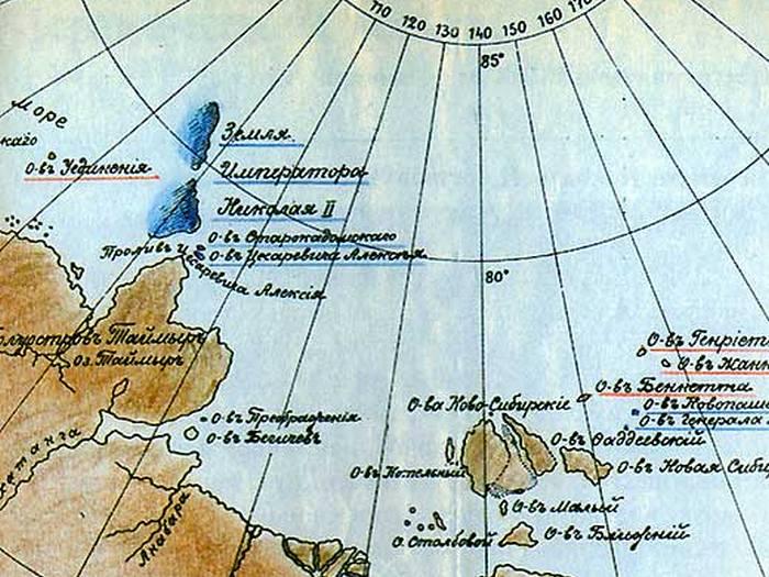 Северная Земля - Земля императора Николая II