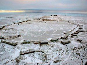 Мыс Челюскин самая северная точка Азии