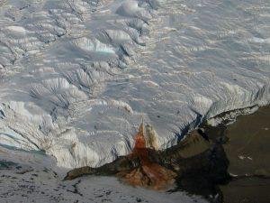 Водопад ледника Тейлора