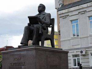 Памятник Я.Гарелину