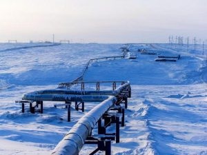 Газопровод от побережья Карского моря