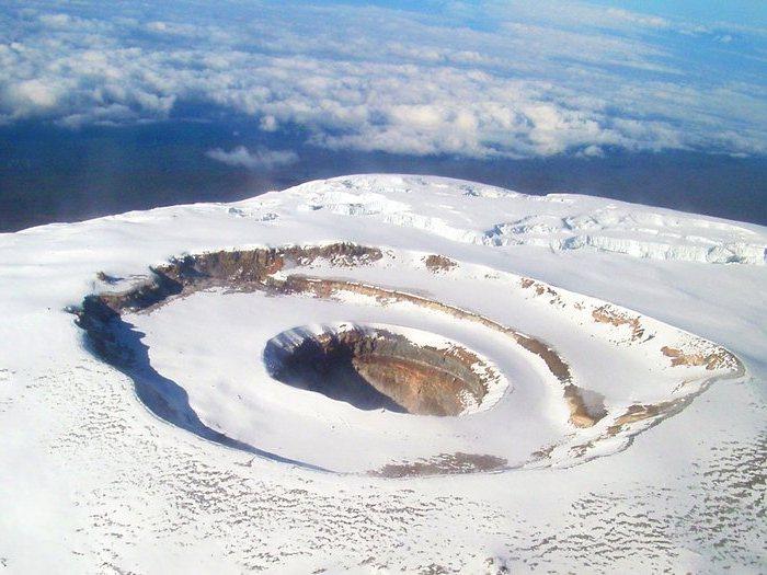 Снеговая шапка Килиманджаро