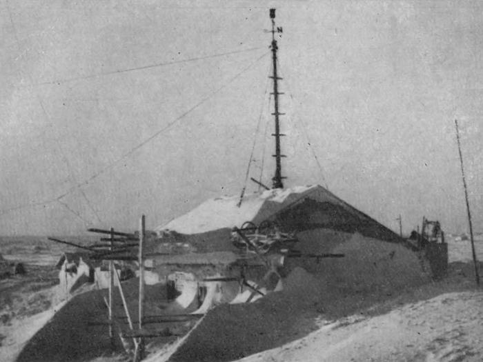 База Североземельской экспедиции в 1930 году