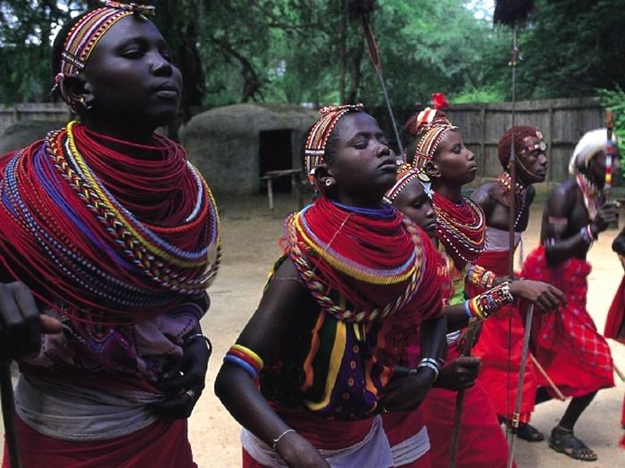 Элита Африки - Масаи