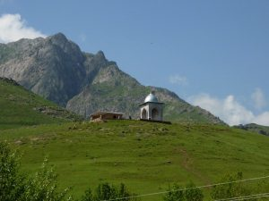 Святые места в горах Ургута