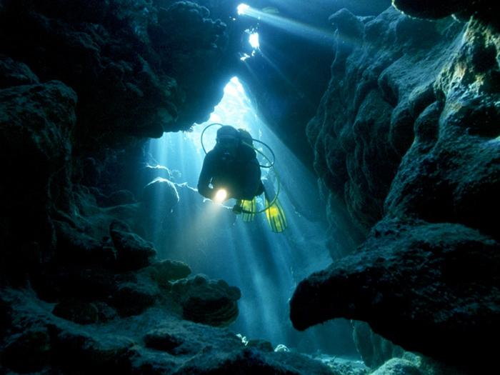 Дайверская пещера
