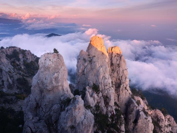 Ай-Петри и облака