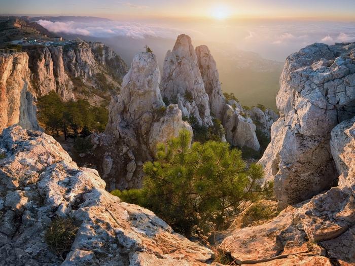 Удивительная гора