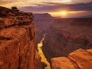 Гранд Каньон в США. Большой Каньон.