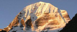 Гора Кайлас на Тибете. Описание Кайласа