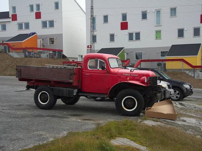 Автомобили Гренландии