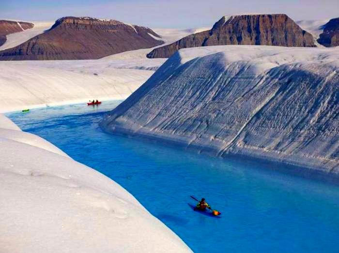 Реки Гренландии