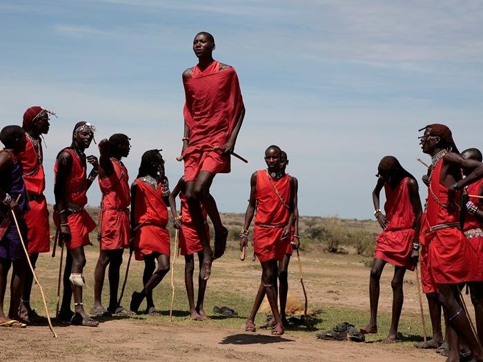 Масаи самые высокие люди